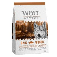 "1kg Wolf of Wilderness Adult ""Oak Woods"" – Wild Boar"