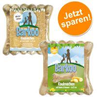 Barkoo Kauknochen Summer-Winter-Edition: mit Huhn & Banane + Ente & Apfel Für Ihre zooPunkte!