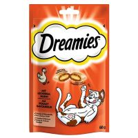60 g Dreamies kissanherkut, kana