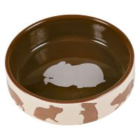 80ml Trixie Ceramic Food Bowl for Hamsters