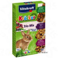 Vitakraft Zwergkaninchen-Kräcker, Gemüse, Traube, Waldbeere