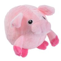 8cm Piggy Pig Gum Massager Dog Toy