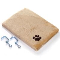 Plush Window Sill Mat - Dark Beige