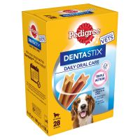 28 Pedigree Dentastix for Medium-Sized Dogs