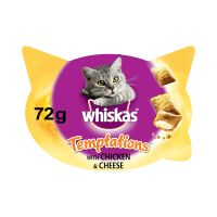 72g Whiskas Temptations - Chicken & Cheese