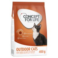400g Concept for Life Outdoor Cats