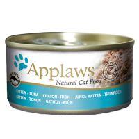 6 x 70 g Applaws en gelatina Kitten atún