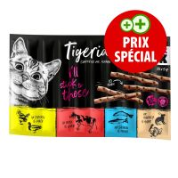 Lot mixte Tigeria Sticks 10 x 5 g pour chat