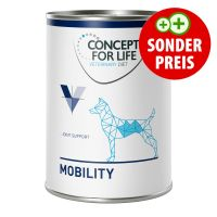 6 x 400 g Concept for Life Veterinary Diet Mobility