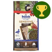 Månadens premie: 1 kg bosch Sensitive Anka & potatis hundfoder