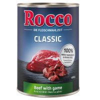 Rocco Classic Vită și vânat, 1 x 400 g