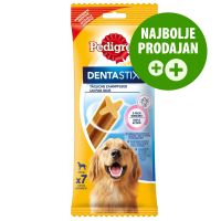 Pedigree Dentastix dnevna nega zob za velike pse, 7 kosov