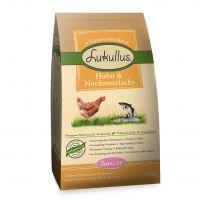 Lukullus Junior csirke & északi-tengeri lazac - 1,5 kg