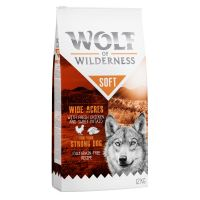 "1 kg Wolf of Wilderness ""Soft - Wide Acres"" - Chicken"