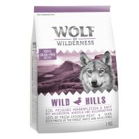 "400 g Wolf of Wilderness hundetørfoder ""Wild Hills"" - And"