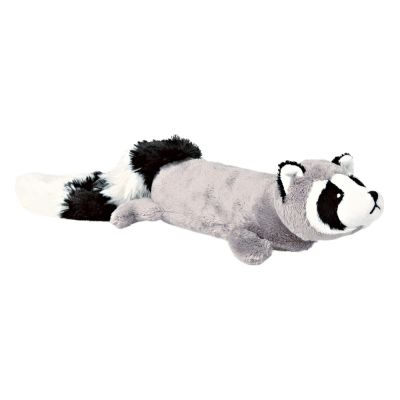 46cm Trixie Plush Raccoon with Power Squeaker Dog Toy