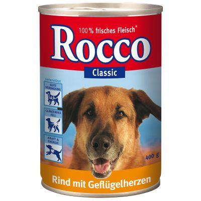 Offre découverte Rocco 6 x 400 g pour chien - 6 variétés