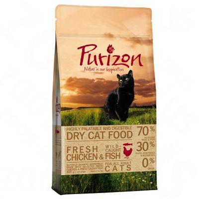 400g Purizon Cat Food - Chicken & Fish