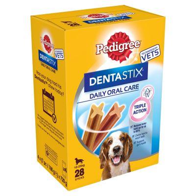 28 Pedigree Dentastix for Medium-Sized Dogs