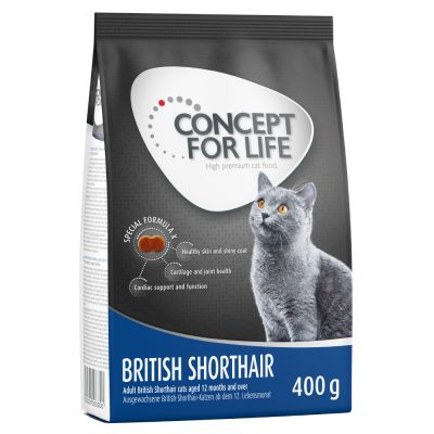 400g Concept for Life British Shorthair Adult Cats