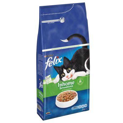 2kg Felix Indoor Sensations Dry Cat Food