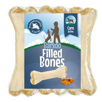 6 x 12cm Barkoo Filled Chew Bones – Active