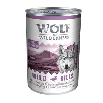 Wolf of Wilderness Green Fields bárány - 6 x 400 g