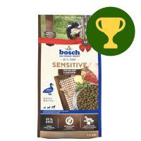 Cadeau du mois : 1 kg Bosch Sensitive canard, pommes de terre