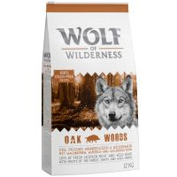 "Wolf of Wilderness Adult ""Oak Woods"" - villsvin 1 kg"