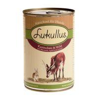 Lukullus Doză unică 1 x 400 g Iepure & vânat