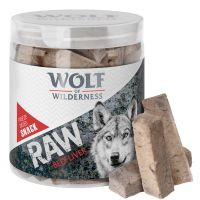 90 g Wolf of Wilderness - mrazem sušený prémiový snack - hovězí játra