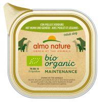 6 x 100 g Almo Nature BioOrganic Maintenance, Huhn & Gemüse