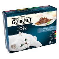 Gourmet Perle Selecte Reepjes Kattenvoer 8 x 85 g