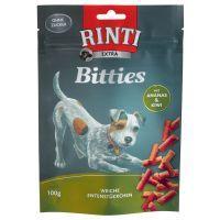 100 g RINTI Extra Bitties , Ente mit Ananas & Kiwi