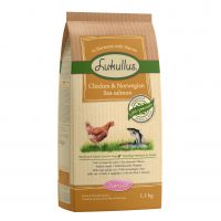 1.5kg Lukullus Junior Dog Food - Chicken & Wild Salmon