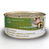6 x 70 g Applaws en gelatina atún con algas marinas