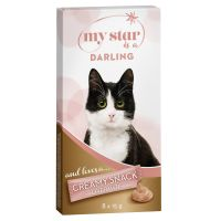 8 x 15g My Star is a Darling – Liver Sausage Creamy Cat Snack