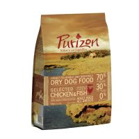 1kg Purizon Adult Dog - Grain-Free Chicken & Fish Dry Food