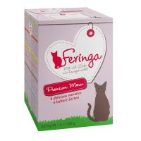 Lot 6 saveurs Feringa Classic Meat Menu 6 x 100 g pour chat