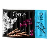 Tigeria Sticks 10 x 5 g, lohi & taimen