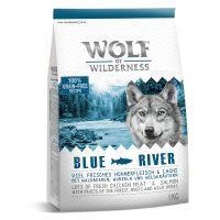 1 kg Wolf of Wilderness Blue River con salmón