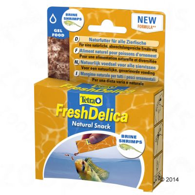 48g Tetra FreshDelica Jelly Fish Snack - Bloodworms