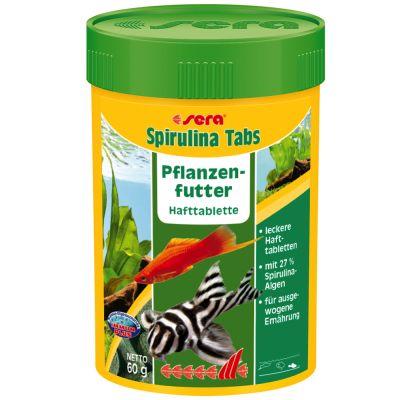 Aliment en comprimés Sera Spirulina - 100 comprimés