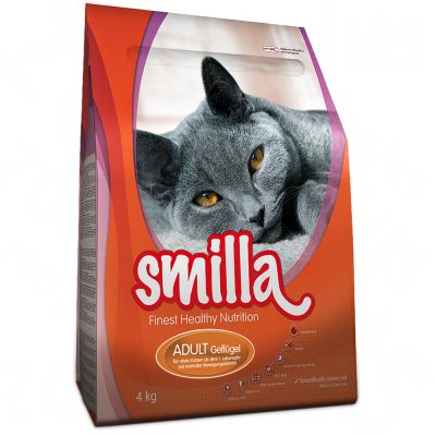 1kg Smilla Adult Cat Food - Poultry