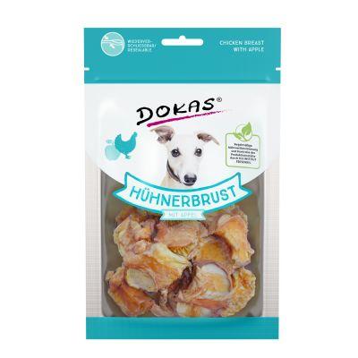 70g Dokas Chicken Dog Treats with Apple
