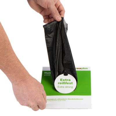 50 Bags of Biodegradable Dog Poop Bags with Handles