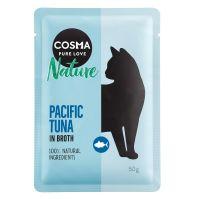 6 x 50 g Cosma Nature Pazifikthunfisch Frischebeutel