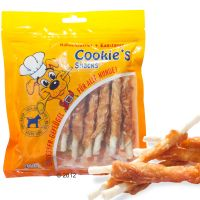 200g Cookie's Snacks Dog Treats - Chicken Twist Strips