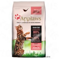 Applaws Adult Pui & Somon 400 g