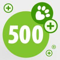 Spende für bedürftige Tiere: 500 zooPunkte